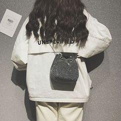 HOT KISS - Sequined Bucket Bag