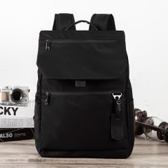 BagBuzz - Plain Multi-Section Backpack