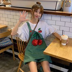 Sisyphi - Cherry Jumper Shorts / Short-Sleeve T-Shirt