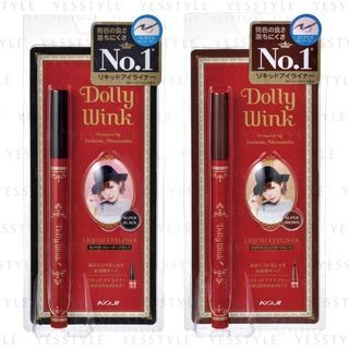 Koji - Dolly Wink Liquid Eyeliner Waterproof - 2 Types