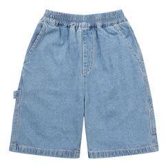 Wolandorf - Kids Elastic-Waist Denim Shorts