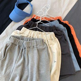 Elfman - 束腰寬腿運動短褲