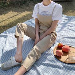 Envy Look - Drawstring-Waist jumpsuit