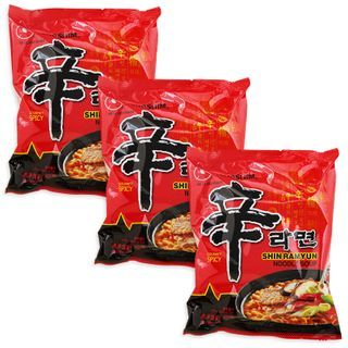 Grainee Foods - Nongshim Shin Ramen Noodle Spicy Mushroom Flavor (3 packs)