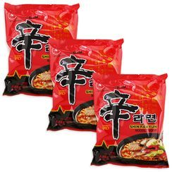 Grainee Foods - Nongshim Shin Ramyun Noodle Spicy Mushroom Flavor (3 packs)