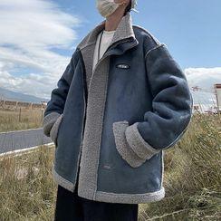 POSI - Fleece Trim Zip-Up Jacket