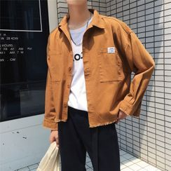 DuckleBeam - 做旧工装衬衫夹克
