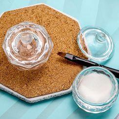 Padoma - Glass Nail Art Brush Wash Basin