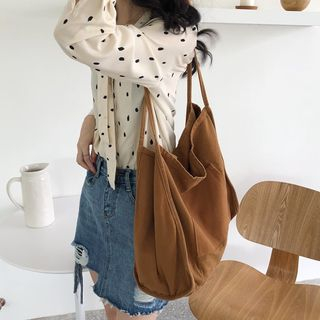 Milha - Plain Canvas Tote Bag