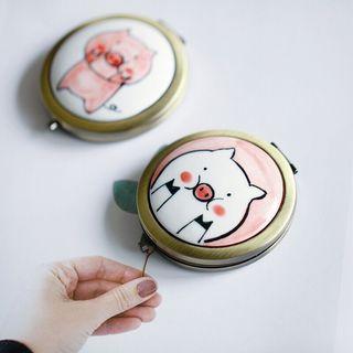 Heliotrope - 小豬口袋鏡子