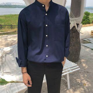 MRCYC - Long-Sleeve Plain Shirt
