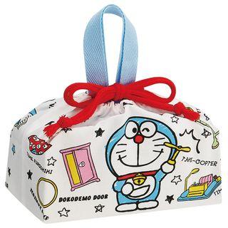 Skater - I'm Doraemon Drawstring Cloth Lunch Bag