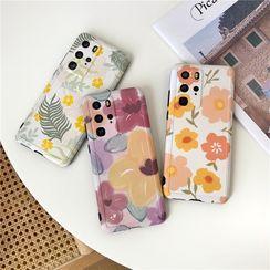 SIFFU - Floral Print Phone Case - Huawei / Honor