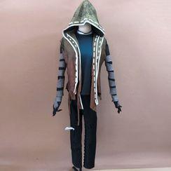 Kaneki - Identity V Mercenary Cosplay Costume Set