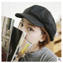 FROME - 条纹报童帽
