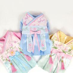 Fuminsho - Traditional Floral Print Pet Dress