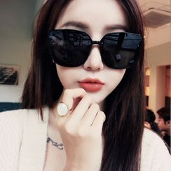 MOL Girl - Oversized Square Sunglasses