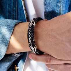 Andante - Braided Chain Accent Bracelet