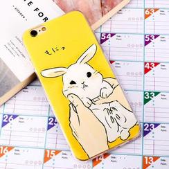 Arancia - Étui lapin pour téléphone portable – iPhone X, 8, 8 Plus, 7, 7 Plus, 6s, 6s Plus, 5s