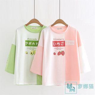 Sonado - 印花插色短袖T裇(多款設計)