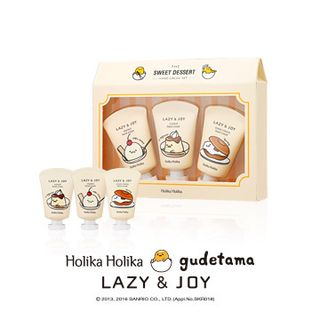HOLIKA HOLIKA - Lazy & Joy Dessert Hand Cream 3pcs Set (Gudetama Edition)