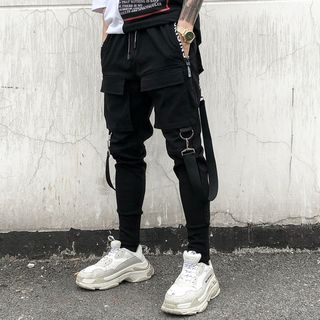 YIKES(ヤイクス) - Strapped Slim Fit Pants