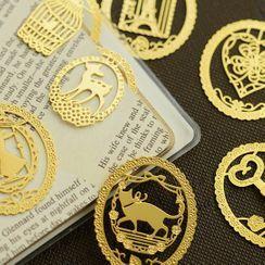 Ballyway - Animal Metal Bookmark (Various Designs)