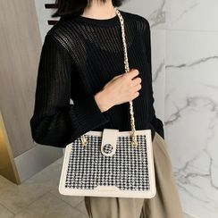 Emvee - Houndstooth Tote Bag