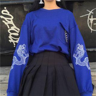 Chililala - Embroidered Sweatshirt