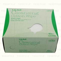 Suzuran - Lily Bell Cleansing Cotton Wipe Extra Large