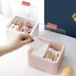 Popcorn - Divided Plastic Makeup Storage Box