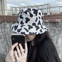 Giuliana - Reversible Cow-Print Bucket Hat