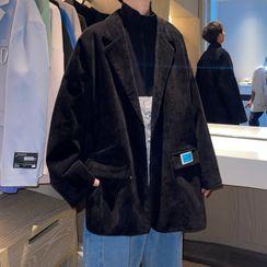 Freehop - Applique Corduroy Jacket