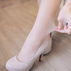 Clair Fashion(クレアファッション) - 薄手タイツ(5足入り)