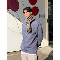 GERIO - Fleece-Lined Sweatshirt in 24 colors