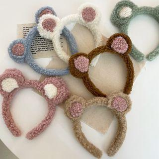 Yukami - 熊耳朵毛絨髮箍