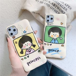 Make Workshop - Cartoon Print Mobile Case - iPhone 11 Pro Max / 11 Pro / 11 / XS Max / XS / XR / X / 8 / 8 Plus / 7 / 7 Plus / 6s / 6s Plus