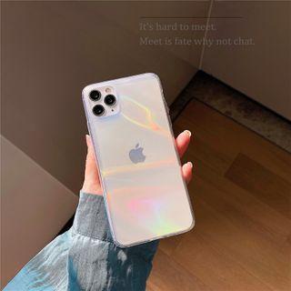 Scotmila - Iridescent Mobile Case - iPhone 7 / 8 /7 Plus / 8 Plus / X / XS / XS Max / XR /11/11 Pro/11 Pro Max