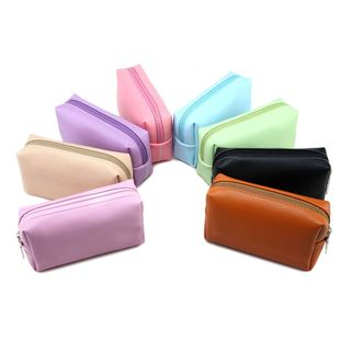 BAGGEST - Faux Leather Accessories Pouch