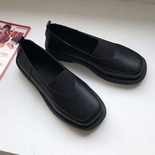 DURAC - Faux Leather Slip-Ons