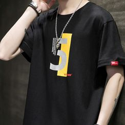COFE - Short-Sleeve Number 5 T-Shirt
