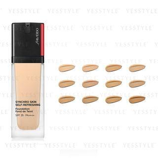Shiseido - Synchro Skin Self-Refreshing Foundation LSF 35 PA ++++ 30ml - 12 Sorten
