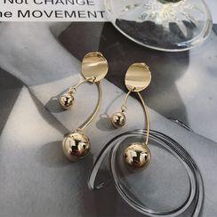 ChiStyle - 金屬球耳環