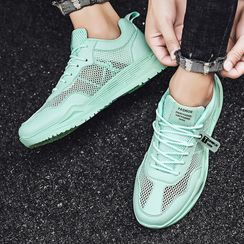BELLOCK - Mesh Platform Sneakers