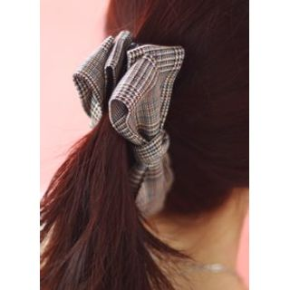 kitsch island - Plaid Bow Hair Pin