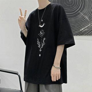 Acrius - 短袖印花T裇