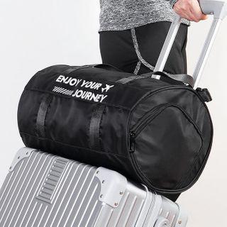 Evorest Bags - Lettering Travel Duffle Bag
