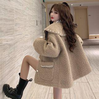 Guajillo - Beaded Fleece Jacket
