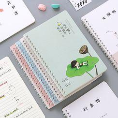 SOONERGO - Printed A5 Spring Notebook