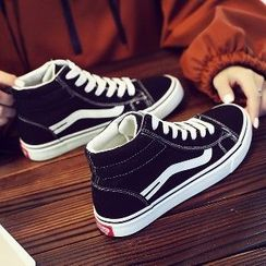Solejoy - High-Top Sneakers